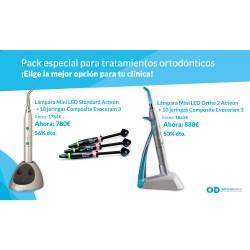 Promoción Pack Lámpara BluePhase G2 + Kit de Brackets